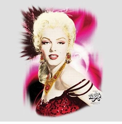 SALE! Marilyn Monroe Jeweled No Return Plus Size & Supersize T-Shirts S M L XL 2xl 3xl 4x 5x 6x 7x 8x (Lights Only)