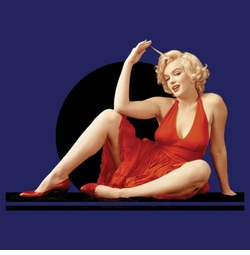 SALE! Marilyn Monroe Red Dress Plus Size & Supersize T-Shirts S M L XL 2x 3x 4x 5x 6x 7x 8x