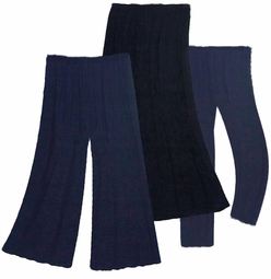 Plus Size Pants, Skirts & Palazzos Navy Blue, Black or Purple Poly/Cotton, Slinky, Spandex,  or Velvet - Customizable! Plus Size & Supersize 0x 1x 2x 3x 4x 5x 6x 7x 8x 9x