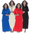 SOLD OUT! SALE! Black, Ivory, Red, Plum or Blue Plus Size Peachskin Shift Jacket Dress 32W 34W