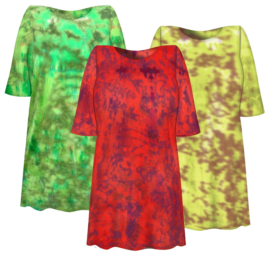 a140db5c201 Plus Size Tie Dye Tops   Tee s XL to 6x