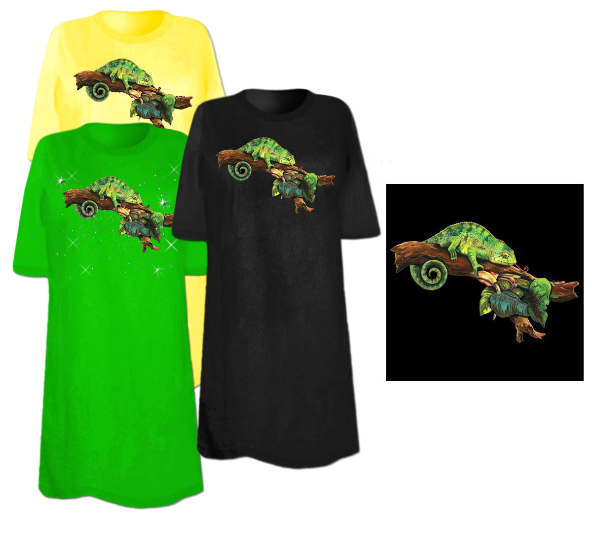 Sale chameleon branch plus size supersize t shirts s m for 3x shirts on sale