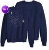 SOLD OUT! CLEARANCE! Comfy Navy Blue Plus Size Sweatshirt 5x 30/32w