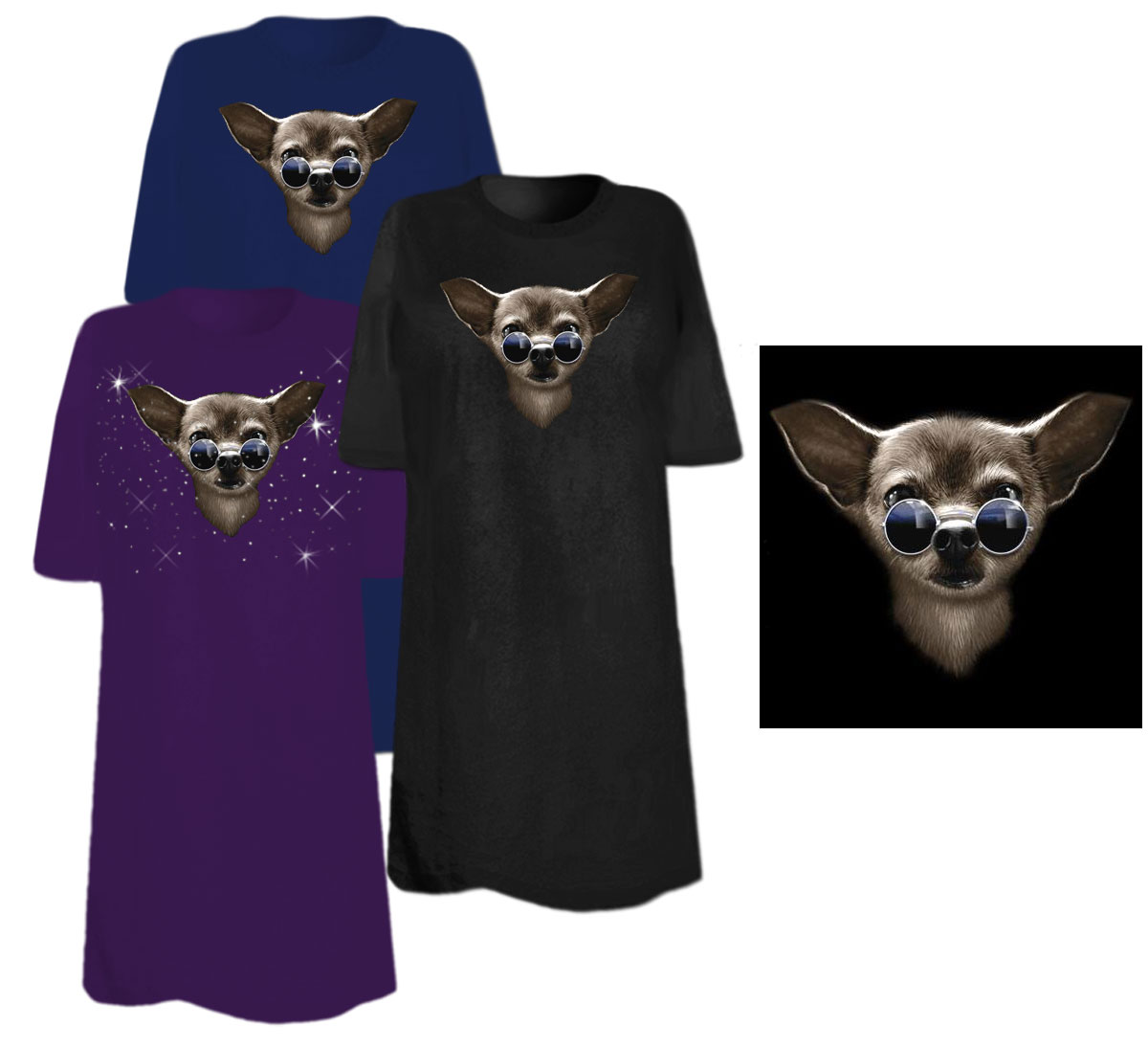 Sale cool chihuahua plus size supersize t shirts s m l for 3x shirts on sale