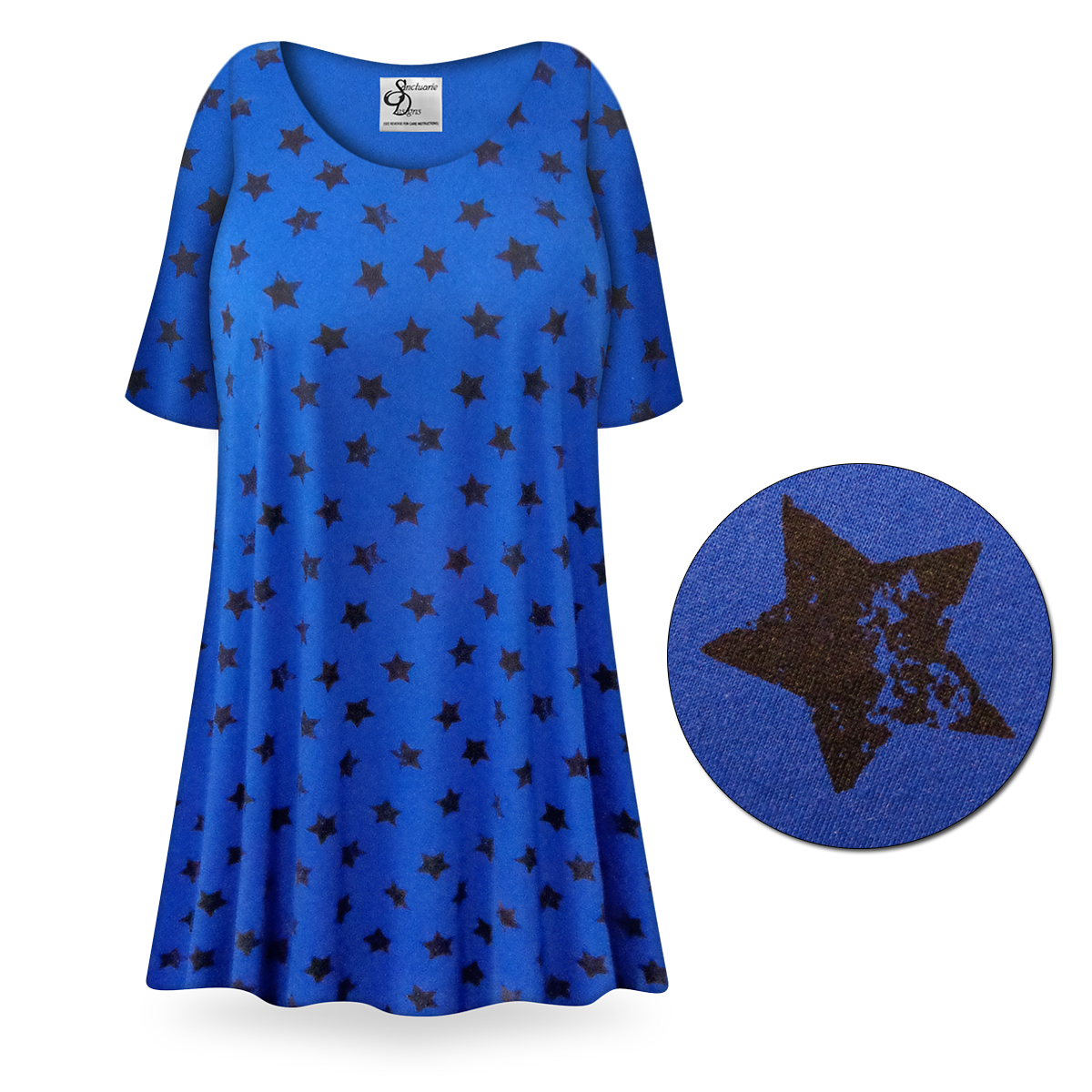 Sold Out New Customizable Super Star Print Plus Size
