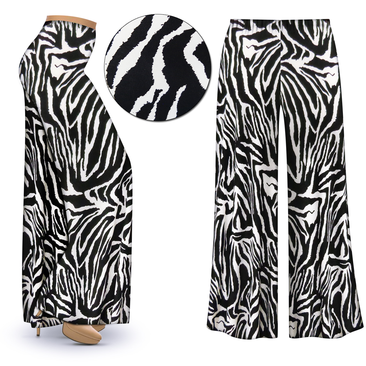 73cdab7a2e SOLD OUT! NEW! Customizable Zebra Slinky Print Plus Size & Supersize ...