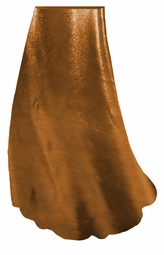 SOLD OUT! Customize Copper Metallic Slinky Print Special Order Plus Size & Supersize Pants, Capri's, Palazzos or Skirts! Lg to 9x