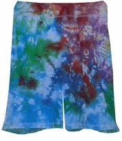 SOLD OUT! Clearance Sale! Elastic Waist Tie Dye Plus Size Shorts 1x 2x 3x 4x 5x
