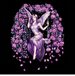SALE! Fairy Swinging With Flowers Plus Size & Supersize T-Shirts S M L XL 2x 3x 4x 5x 6x 7x 8x (All Colors)