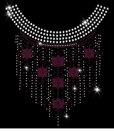 SALE! Fuchsia Six Sided Star Dangling Sparkly Rhinestuds Plus Size & Supersize T-Shirts S M L XL 2x 3x 4x 5x 6x 7x 8x 9x (All Colors)