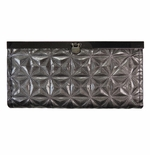 NEW! Gunmetal Embossed Wallet