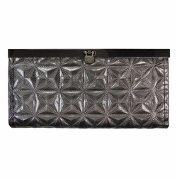 SOLD OUT! NEW! Gunmetal Embossed Wallet