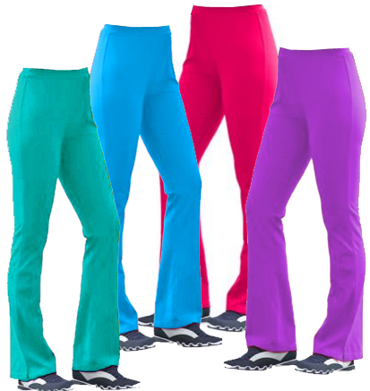 SOLD OUT! SALE! Hot Pink or Jade Green Plus Size Bootcut Yoga ...