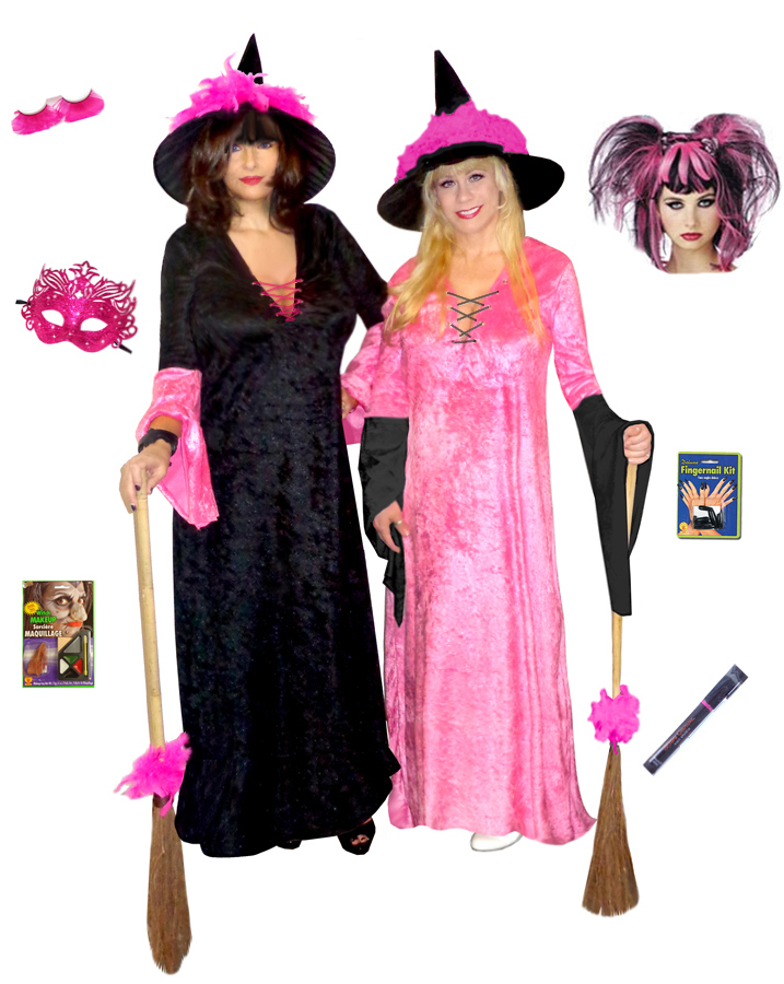 SALE! Hot Pink Witch + Add Accessories Plus Size Supersize ...