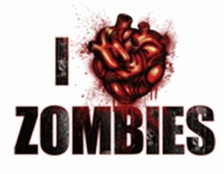 SALE! I Heart Zombies Plus Size & Supersize T-Shirts S M L XL 2x 3x 4x 5x 6x 7x 8x (Most Colors)