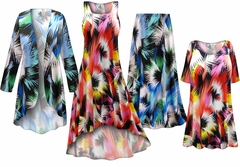 Marvel Slinky Print - Plus Size Slinky Dresses Shirts Jackets Pants Palazzo�s & Skirts - Sizes Lg to 9x