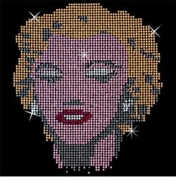 SALE! Marylin Rhinestone / Studs Plus Size & Supersize T-Shirts S M L XL 2x 3x 4x 5x 6x 7x 8x 9x (All Colors)