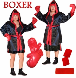 SALE! Punch 'em Out! Sexy or Standard Boxer Costume Plus Size & Supersize 1x 2x 3x 4x 5x 6x 7x 8x
