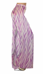 SOLD OUT! Opalescent Purple Zebra Slinky Print Special Order Plus Size & Supersize Pants, Capri's, Palazzos or Skirts! Lg to 9x