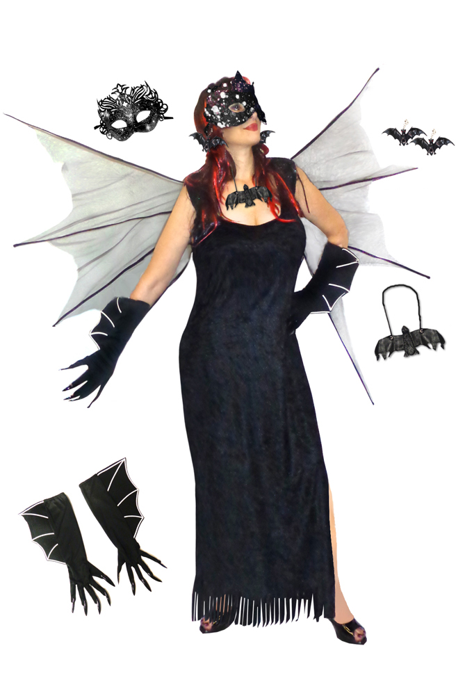 SALE! Plus Size Bat Woman Costume + Accessories Plus Size ...