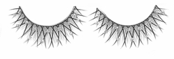 NEW! Pretty Feathery Thin False Eye Lashes With Rhinestone Glitter