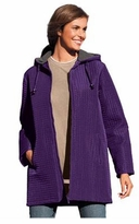 SOLD OUT! Purple Lightweight Quilt Plus Size Jacket 6x