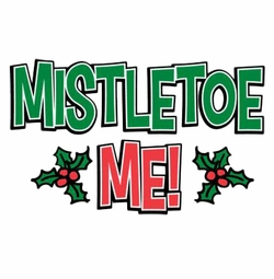 SALE! Mistletoe Me Rhinestone / Studs Plus Size & Supersize T-Shirts S M L XL 2x 3x 4x 5x 6x 7x 8x 9x (All Colors)