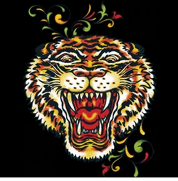 SALE! Roaring Tiger Head Tattoo Plus Size & Supersize T-Shirts S M L XL 2x 3x 4x 5x 6x 7x 8x 9x (All Colors)