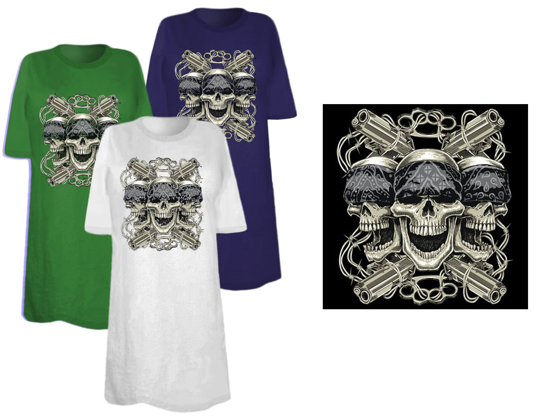 Sale skulls thug life plus size supersize t shirts s m for 3x shirts on sale