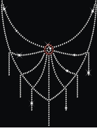 SALE! Sparkly Rhinestud Rhinestone Spider Web Neckline Plus Size & Supersize T-Shirts S M L XL 2x 3x 4x 5x 6x 7x 8x 9x (All Colors)