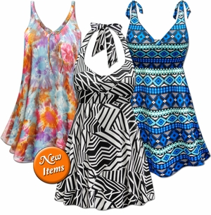 <font size=4 color=red>New! <font size=4 color=purple>Swimsuits & Cover-ups!