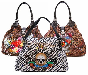 New! Tattoo Print Purses and Wallets!
