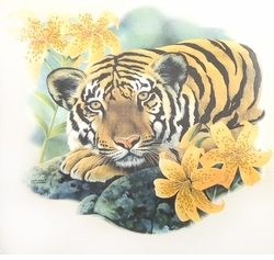 SALE! Tiger & Lillies Plus Size & Supersize T-Shirts S M L XL 2x 3x 4x 5x 6x 7x 8x (Lights Only)