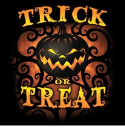 SALE! Trick Or Treat Pumpkin Plus Size & Supersize T-Shirts S M L XL 2x 3x 4x 5x 6x 7x 8x (All Colors)