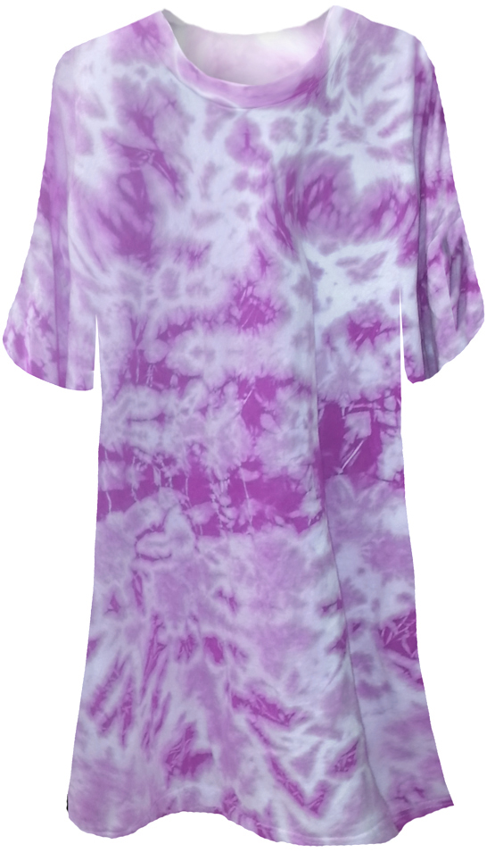 Sale Purple Tie Dye Plus Size T Shirts Xl 2x 3x 4x 5x 6x