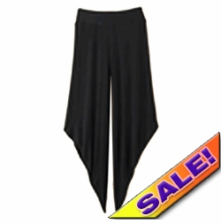 SOLD OUT! SALE! Women's XL Spiegel/Newport News Wide Leg Diagonal Cut Lounge Dorm Plus Size Capri Pants 1X