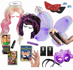 ACCESSORIES! Halloween Costume Accessories - Brooms - Makeup ...
