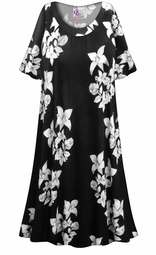 SALE! Customizable Floral Origami Print Plus Size & SuperSize Muumuu - Moo Moo Dress 0x 1x 2x 3x 4x 5x 6x 7x 8x 9x