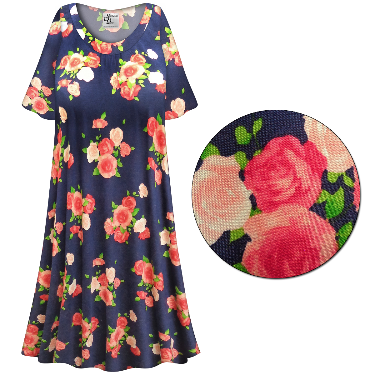 SOLD OUT! SALE! Customizable Roses Print Plus Size & SuperSize ...