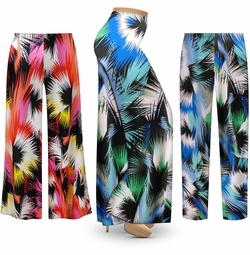 SALE! Customizable Marvel Slinky Print Plus Size & Supersize Palazzo Pants - Tapered Pants - Sizes Lg XL 1x 2x 3x 4x 5x 6x 7x 8x 9x