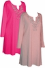 Light or Hot Pink Rhinestone Plus Size & Supersize Extra Long Shirts 0x 1x 2x 3x 4x 5x 6x 7x 8x 9x