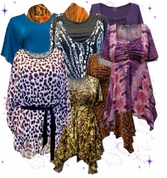 Tops, Blouses & Tunics<br>Plus Size & Supersize 0x to 9x<br>