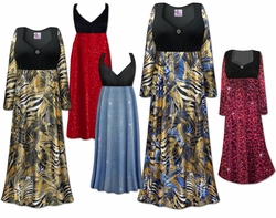 Plus Size Empire Waist Glamour Dresses & Gowns