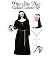SALE! Plus Size Nun Costume Dress / Accessory Kit - Lg XL 1x 2x 3x 4x 5x 6x 7x 8x 9x