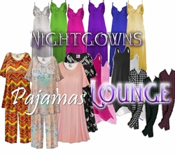 Black Friday - Sale Section: <i><font size=3><b><br>PLUS SIZE PAJAMAS/LOUNGE</b></i>
