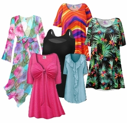 Black Friday - Sale Section: <i><font size=3><b><br>PLUS SIZE TOPS</b></i>