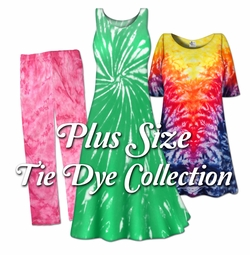 Plus Size Tie Dye Shop (All Tie Dye Items)