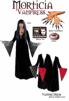 SOLD OUT! SALE! Plus Size Vampire Costume - Plus Size Vampiress Morticia Costume - Plus Size & Supersize Gothic Halloween Costumes Lg XL 0x 1x 2x 3x 4x 5x 6x 7x 8x 9x