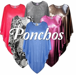 Ponchos<br>Plus Size & Supersize 0x to 9x