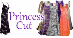 Plus Size Princess Cut Dresses